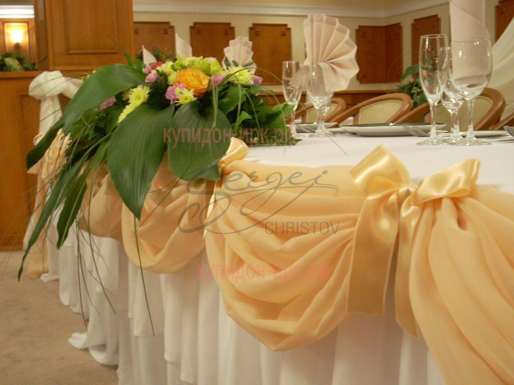 Украшение для свадебного стола своими руками фото 63