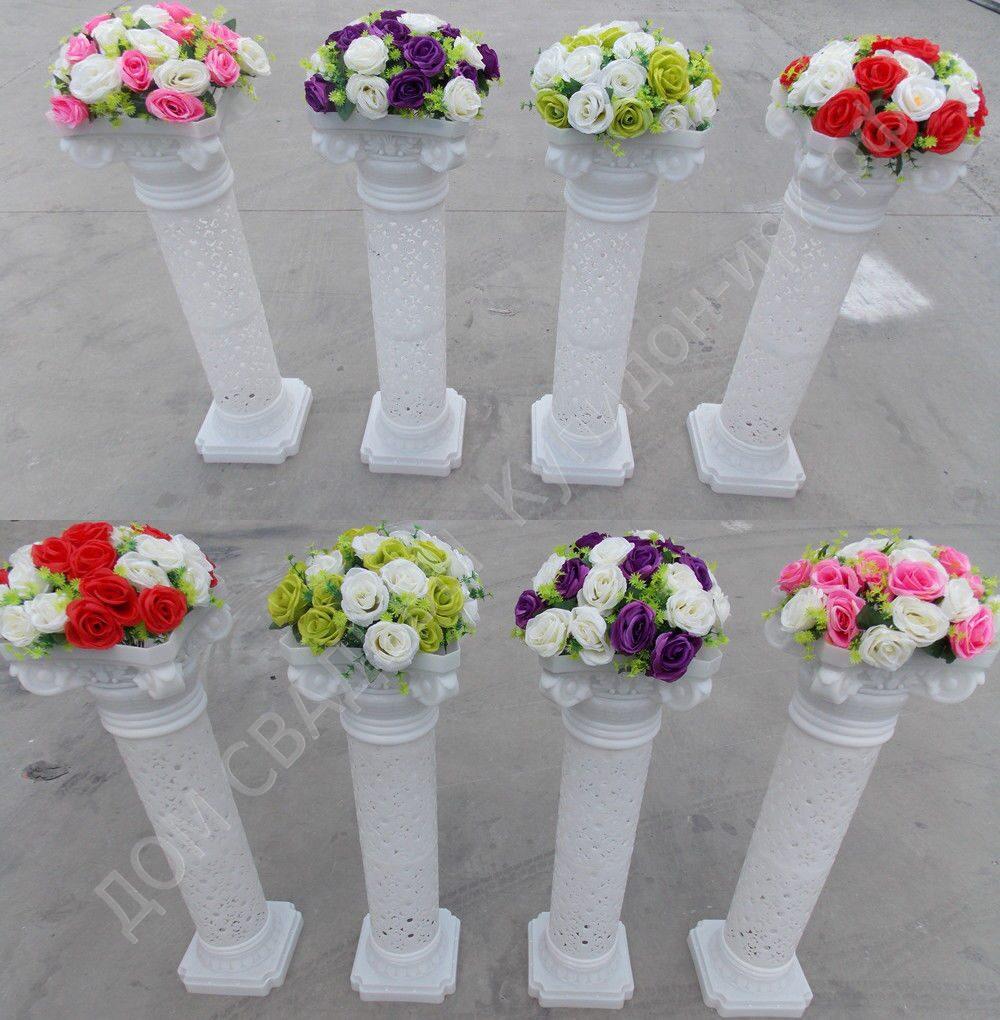 Белая колонна своими руками
